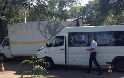 ДТП с маршрутками под Запорожьем: 32 пострадавших