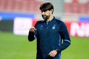 Динамо залишить асистент Реброва