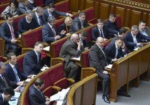 Депутаты не поддержали законопроекты об объединении должностей главы КГГА и Киевсовета