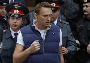 Навальный не дал следователям образец своего почерка
