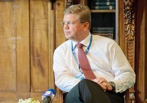 Евросоюз не считает Тимошенко и Луценко политзаключенными - еврокомиссар