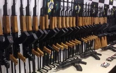 В аэропорту Рио-де-Жанейро конфисковали 60 автоматов