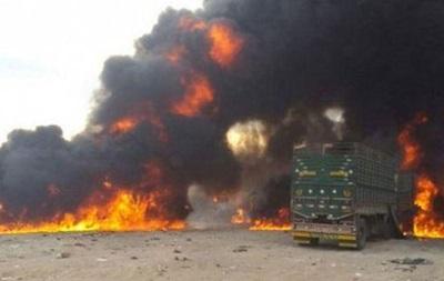 Літаки РФ знищили колону бойовиків в Сирії