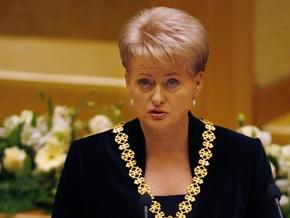 Президент Литвы предложила спикеру парламента уйти в отставку