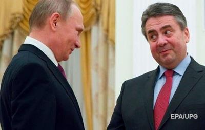 Путін обговорив Україну із главою МЗС Німеччини
