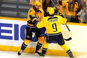НХЛ: Нешвіл закинув п ять шайб Піттсбургу, скоротивши рахунок у серії
