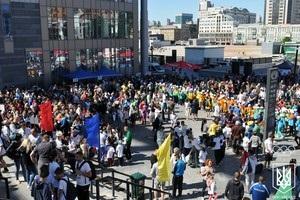 У Києві яскраво відсвяткували Олімпійський день