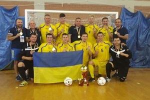 Україна виграла чемпіонат світу з футзалу серед гравців із вадами зору