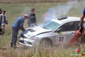 Автомобіль збив чоловіка на смерть під час ралі в Миколаївській області
