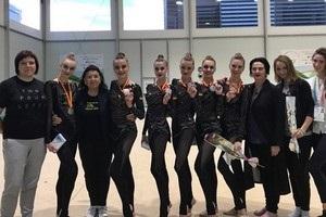 Українські гімнастки виграли чотири медалі в Іспанії