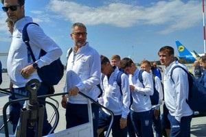 Сборная Украины по футболу вылетела в Австрию