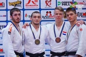 Украинские дзюдоисты завоевали шесть медалей на турнире в Румынии