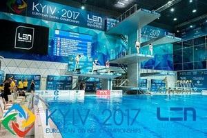 У Києві стартує чемпіонат Європи зі стрибків у воду