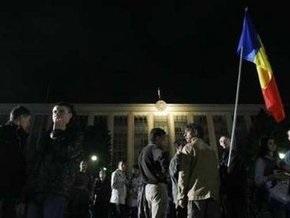 Акция протеста в центре Кишинева прекращена