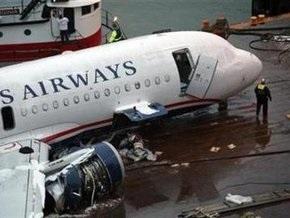 Причиной приводнения самолета на Гудзон стало попадание птиц в двигатели