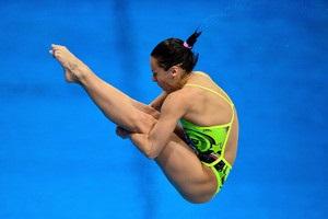 Україна виграла третє золото поспіль на ЧЄ зі стрибків у воду