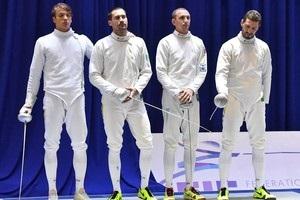 Українські шпажисти завоювали срібло чемпіонату Європи
