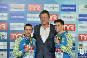 Кваша та Колодій виграли срібло в  синхроні  на ЧЄ в Києві