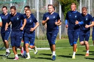 Динамо провело перше тренування під керівництвом Хацкевича