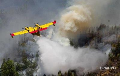 У Португалії розбився літак, що гасив лісові пожежі