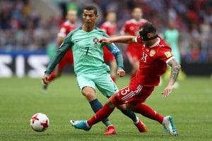 Кубок конфедерацій: Роналду приніс Португалії перемогу над Росією