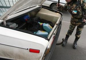 Одесские пограничники обнаружили молдаванина в багажнике Жигулей