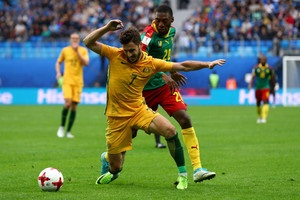 Кубок Конфедерації: Австралія уникла поразки від Камеруну