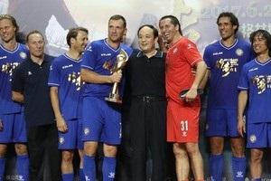 Андрій Шевченко забив переможний гол у матчі за Збірну зірок Європи