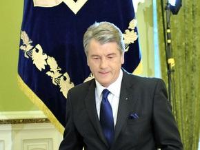 Ющенко поздравил Бердымухаммедова с днем рождения