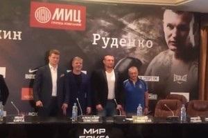 Повєткін - Руденко: відео дуелі поглядів