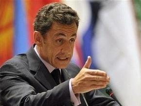 Саркози освистали на похоронах президента Габона