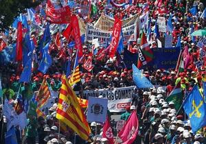 Южная Европа парализована забастовками
