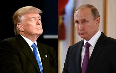 ЗМІ: Трамп обговорить з Путіним Україну і Сирію