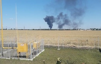 На нефтебазе под Одессой взорвался бензовоз