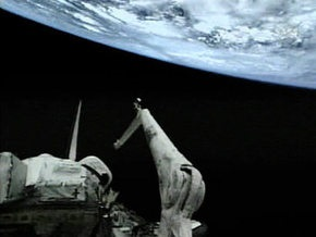 Астронавты Discovery начали первый выход в космос