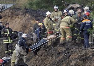 Опознаны тела 19 погибших в авиакатастрофе под Ярославлем