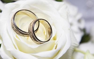 В Киеве сегодня в пять раз больше свадеб
