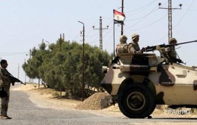 При теракте в Египте погибли более 20 военных