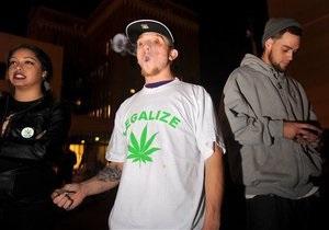 Жители Калифорнии проголосовали против легализации марихуаны