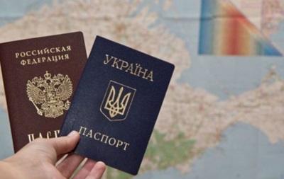 В России разработали отказ от гражданства Украины