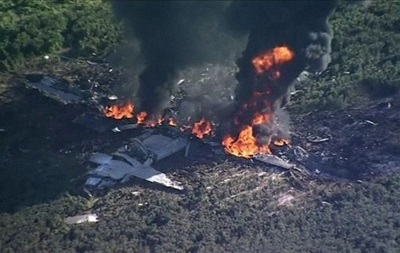 Крушение военного самолета в Миссисипи: 16 жертв