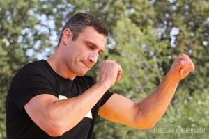Виталий Кличко выставил личную тренировку на благотворительном аукционе