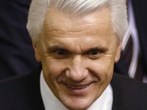 Литвин открыл Раду и поздравил с победой Шахтера