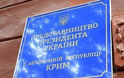 Представительство Порошенко в Крыму отменило прием граждан