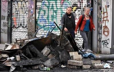В Германии подсчитали убытки от беспорядков в Гамбурге во время G20