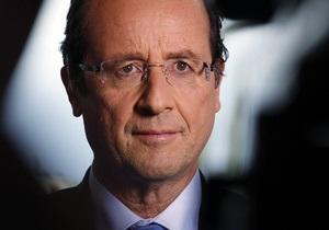 Олланд официально объявлен победителем выборов президента Франции