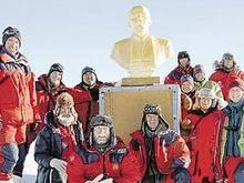 В Антарктиде обнаружен пластиковый бюст Ленина