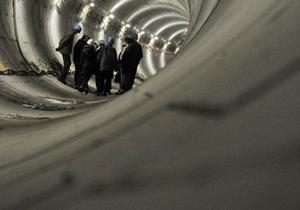 Французы и россияне заинтересованы в строительстве туннеля под Днепром в Киеве