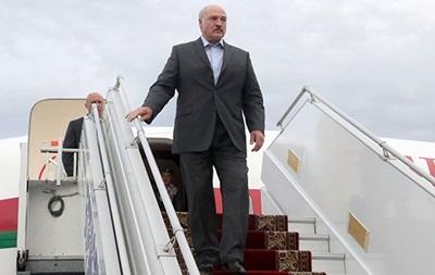 Лукашенко прибыл в Киев с официальным визитом