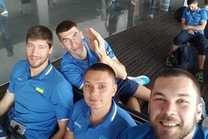 Сборная Украины отправилась в Словению готовиться к Евробаскету